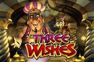 Автомат Three Wishes от Гейминатор Слотс онлайн картинка логотип
