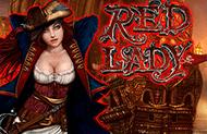 Игровой автомат Red Lady от зеркала GMSlots онлайн картинка логотип