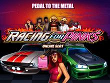 Автомат на сайте казино Вулкан: Racing For Pinks